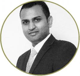 portrait of Jay Jindal Consultant Audiologist